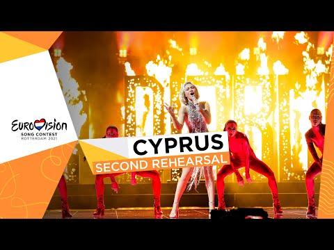 Elena Tsagrinou - El Diablo - Second Rehearsal - Cyprus 🇨🇾 - Eurovision 2021