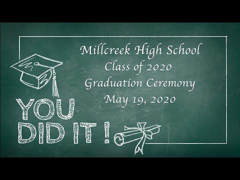 Millcreek High School 2020 Graduation Ceremony
