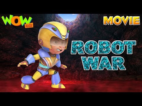 Vir The Robot Boy | Robot War | Action...