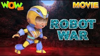 Vir The Robot Boy | Robot War | Action Movie With ENGLISH, SPANISH & FRENCH SUBTITLES | WowKidz