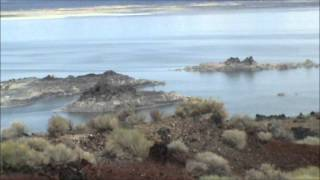Mono Lake, Calif ~ top of Negit Island ~ 360 view & more!