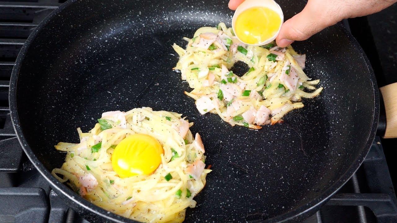 ¡Nunca había comido huevos tan deliciosos!