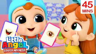 Belajar Nama Anggota Tubuh Yuk! | Kartun Anak | Little Angel Bahasa Indonesia