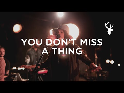 You Don't Miss A Thing (LIVE) - Amanda Cook | We Will Not Be Shaken