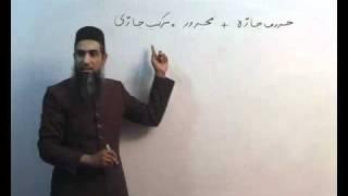 Arabi Grammar Lecture 16 Part 01    عربی  گرامر کلاسس