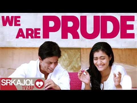 SRKajol TV Zap  We are prude  Shah Rukh Khan and Kajol