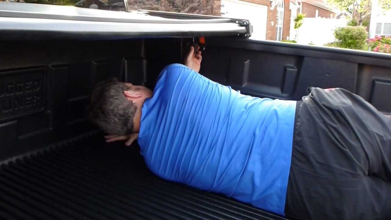 Rugged Liner Premium Vinyl Folding Tonneau Cover Installation Video