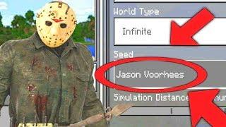 Minecraft : FINDING FRIDAY THE 13TH JASON SECRET WORLD! (Ps3/Xbox360/PS4/XboxOne/PE/MCPE)