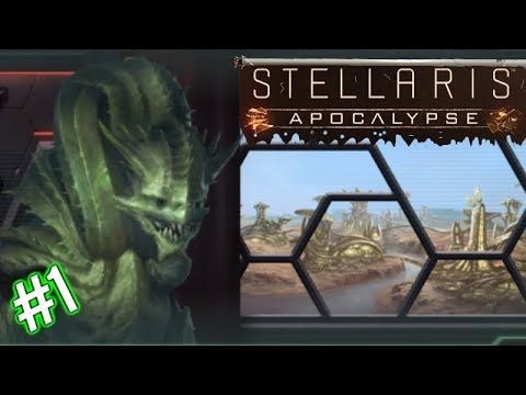 Stellaris Apocalypse | Ep1 | Cash Cactus Combine! | Stellaris Gameplay - Let's play.