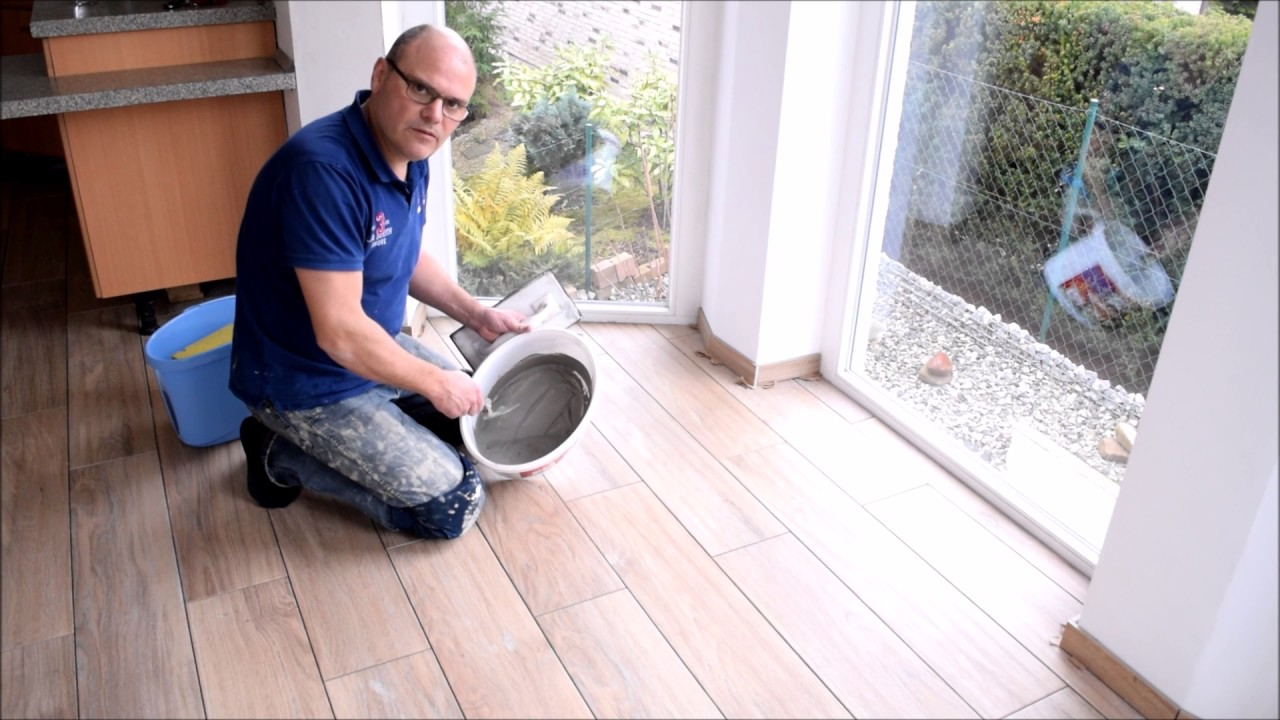 Projekt Küche renovieren Teil 12 Fliesen legen und ausfugen