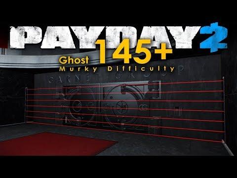 Diamond Heist - Murky Difficulty, PACIFIST (Payday 2 Ghost 145+ Mod)