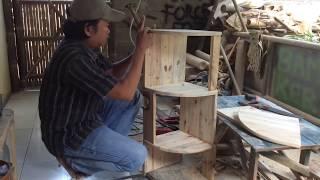 Cara Membuat Rak Sudut Minimalis dari Kayu Palet
