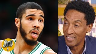 Scottie Pippen is all for Jayson Tatum being an All-Star | The Jump