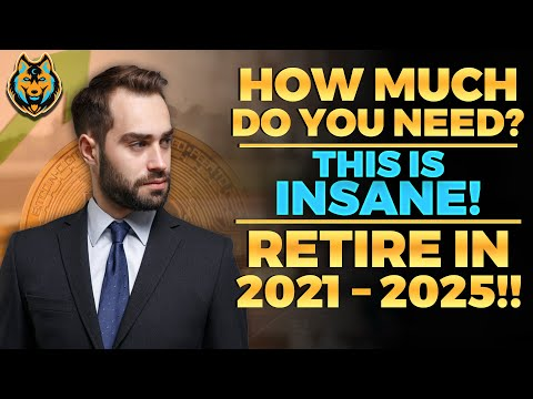 How To Retire EARLY With Bitcoin? (2025 Or Sooner) HUGE! Bitcoin Price Prediction - Bitcoin News