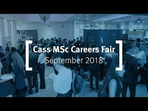 MSc Careers Fair 2018 - Cass Business School