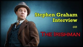 The Irishman | De Niro 'cuddled' Stephen Graham during audition