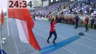 RADOMSKI BIEG NIEPODLEGŁOŚCI 2018 - Meta biegu na stadionie Mosir