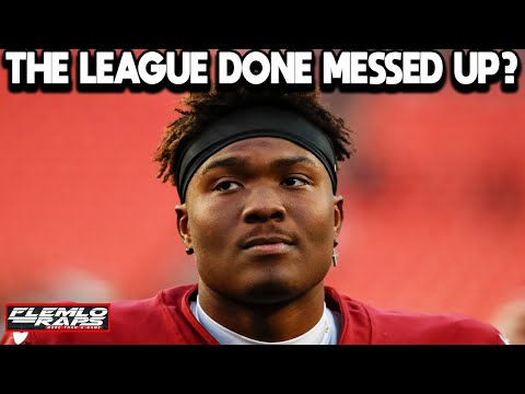 [Flemlo Raps]What Happened to Dwayne Haskins? (He's Throwing His NFL Career Away)