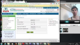 12 How to file Income tax online in India (In hindi )