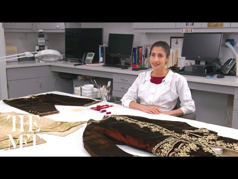 18th-Century Court Suit: Behind the Scenes at The Costume Institute Conservation Laboratory