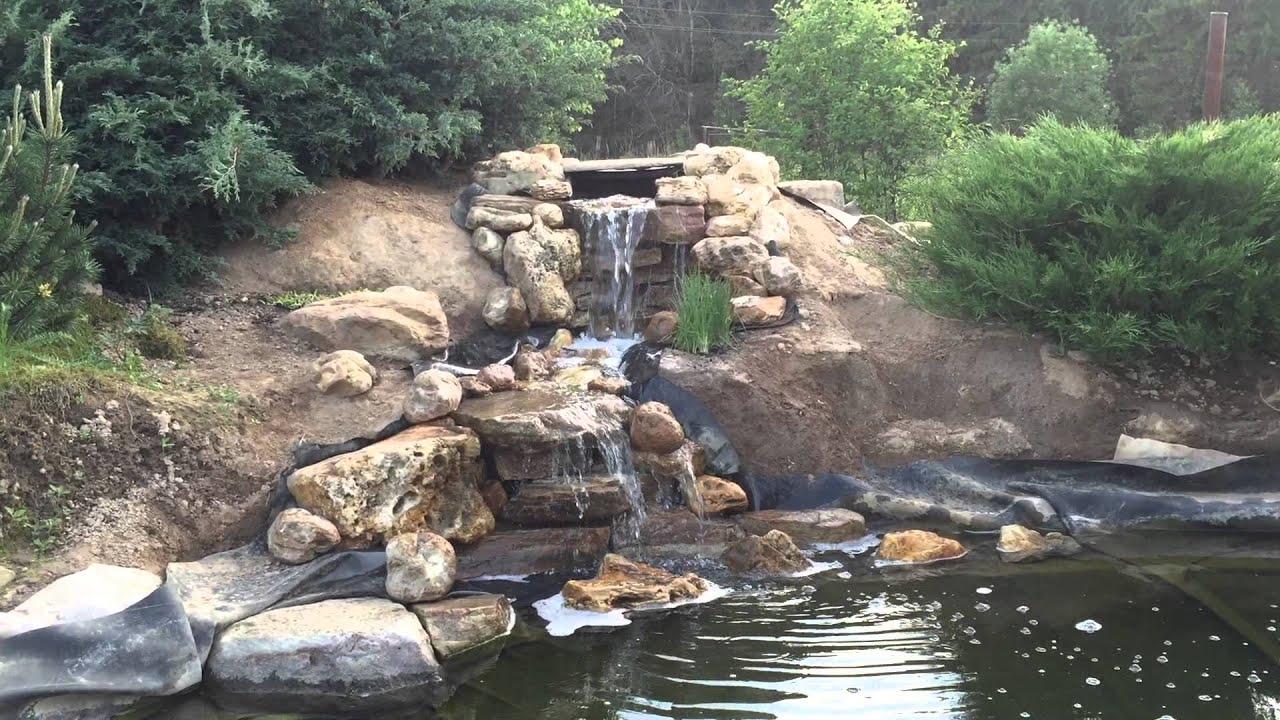 Создание водопада своими руками