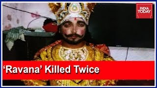 #AmritsarTrainTragedy : Dalbir Who Played Ravana At Amritsar Event Killed 'Twice' thumbnail