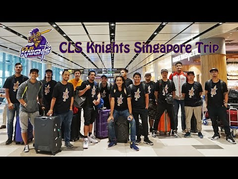 First Day Singapore Trip CLS Knights Indonesia ABL