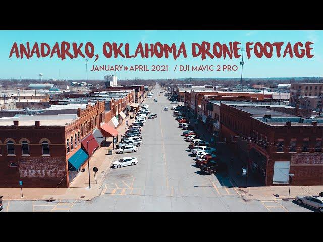 ANADARKO, OK / 4K Drone Footage / January to April 2021 / DJI Mavic 2 Pro