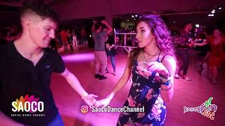 Elizaveta Carracedo and Sergey Shepilov Salsa Dancing at Rostov For Fun Fest 2018, Sunday 04.11.2018