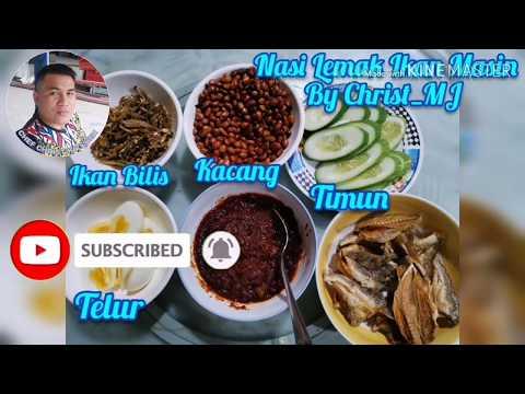 resepi-nasi-lemak-pandan-ikan-masin
