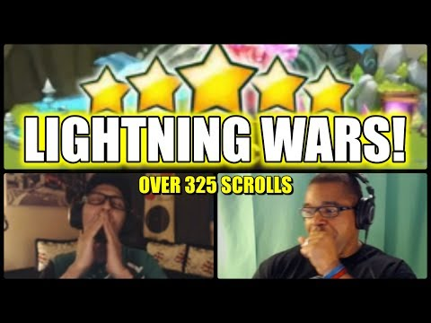LIGHTNING WARS: Childish vs Marantino100 -  325 Scrolls - LETS DO IT!!
