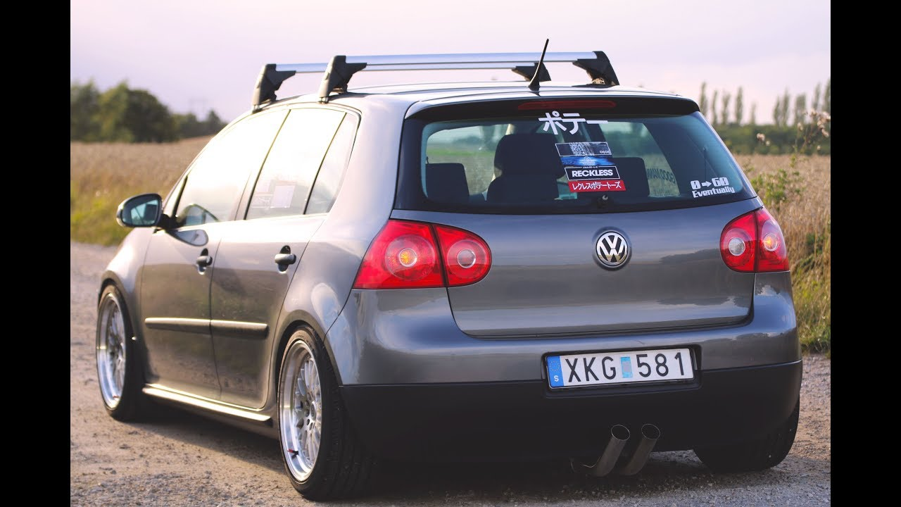 Golf MK5 Roof Rack Install - YouTube