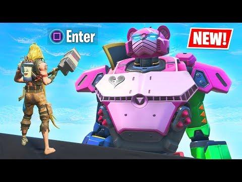New ROBOT vs MONSTER Event Secret UNLOCKED!! (Fortnite Battle Royale)