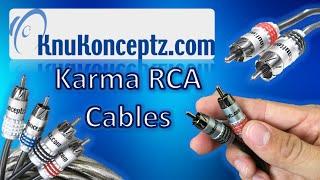 KnuKonceptz Karma RCA Cables