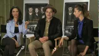 SMF interview: Rami Malek, Angela Sarafyan and Andrea Gabriel from Twilight: Breaking Dawn 2