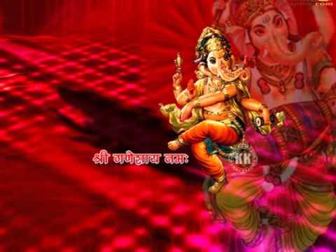 Shuklaambaradharam Gajamukhane