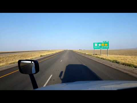 BigRigTravels LIVE! Elk Mountain to Rock Springs, Wyoming- Interstate 80 - August 28, 2017