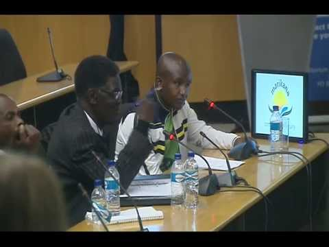 Marikana Commisssion of Inquiry, 25 August 2014: Session 3