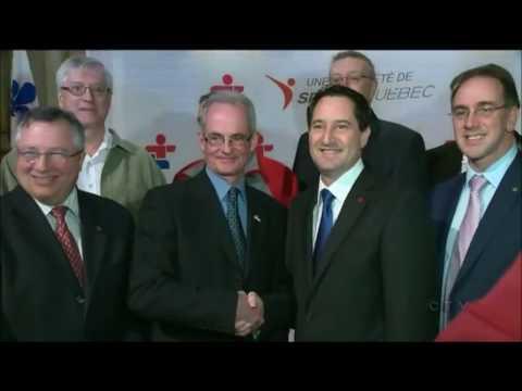 Ex-Montreal Mayor Faints As He