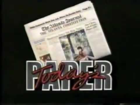 The Atlanta Journal Newspaper (1989)