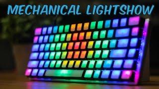 DIY Blank Top Keycaps on the Ajazz AK33 RGB Mechanical Keyboard
