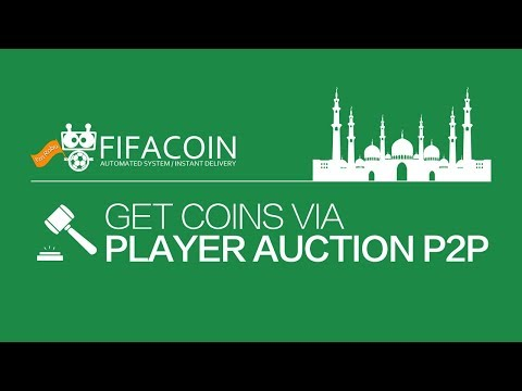 Arabic: how to get coins via Player Auction P2P system on FI