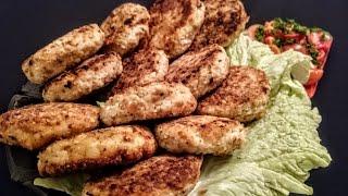 Рыбные котлеты из щуки Рецепт - Вторые блюда из рыбы что приготовить на ужин вкусно