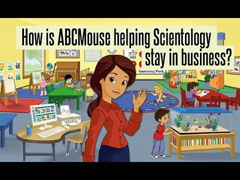 How is ABCMouse helping Scientology stay in business?