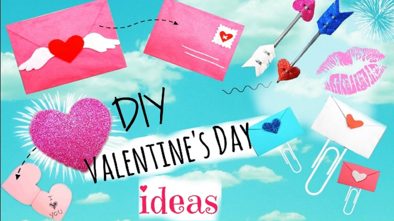 Diy Valentine S Day Gifts School Supplies Ideas Easy Cute Ideas Youtube