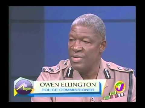 Police Commissioner Owen Ellington  talks crime and Adidja 'Vybz Kartel' Palmer