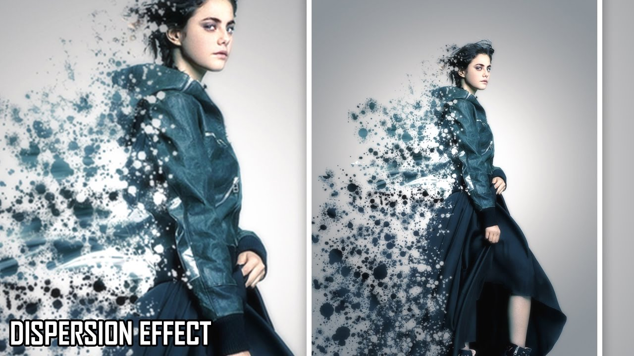Dispersion Effect in Photoshop Tutorial