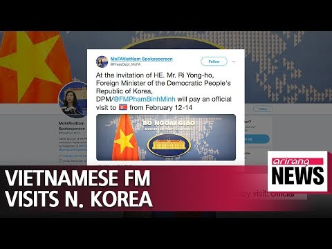 Vietnamese foreign minister to visit N. Korea: Official