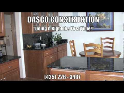 Dasco Construction Kitchen Bathroom Basement Remodeling Bellevue WA