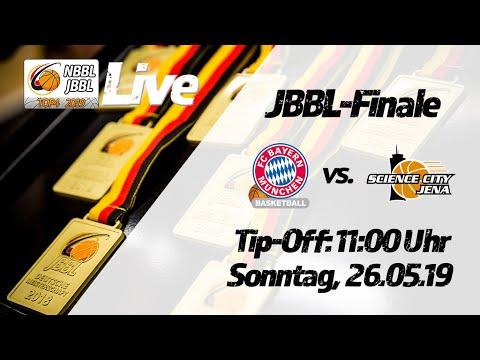 JBBL-Finale 2019: FC Bayern München Basketball - Science City Jena